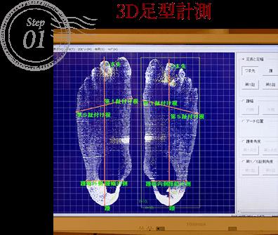 3D足型計測